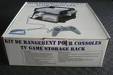 RARE Kit rangement consoles Tv BigBen PlayStation PS1 N64 ♦ Neuf blister boite