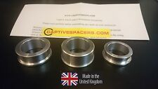 Suzuki GSXR 600 & 750  2006 -10 Captive race wheel spacers. Both wheel set