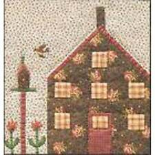 QUILTED VILLAGE- BLOCK 9 COTTAGE WITH BIRD QUILT PATTERN, From The City Stitcher