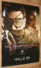 Metal Gear Solid V 5 The Phantom Pain very rare Gamescom Poster 84x59.5cm