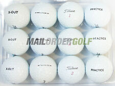 24 Titleist PRO V1X PROV1 PEARL/A Grade X-OUT PRACTICE Lake Golf Balls 2Dozen UK