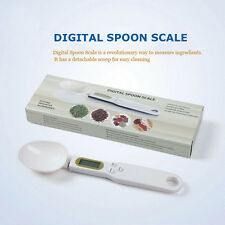 500/0.1g Electronic LCD Digital Lab Gram Measuring Spoon Weighing Scale Useful