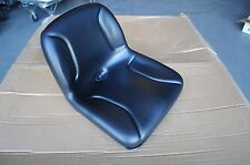 "Milsco TS-2500 Black 15"" All-Purpose Metal Tractor Mower Pan Seat - Brand New"