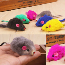 2pcs Kitten Car Playing Toys False Mouse in Rat For Pet Cat Funny Gift AC SH