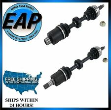 For 04-08 Acura TSX 2.4 K24A2 Left Right CV Axle Shaft Set Of 2 NEW