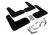 Rally Armor Mud Flaps Guards for 13-15 FRS FR-S BRZ (Black w/Red Logo)