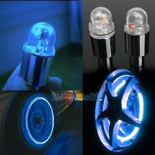 2pcs Bike Motorcycle Car Wheel Tire Tyre Valve Cap Spoke LED Flash Light Lamp S5
