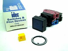 NEW! IDEC Corporation HW2L-A111QD-S-24V Square Push Button Switch Blue LED RC