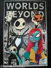 Nightmare Before Christmas Jack Sally Tim Burton Art print movie poster mondo