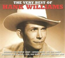 THE VERY BEST OF HANK WILLIAMS - 2 CD BOX SET - MOVE IT ON OVER & MORE