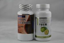 PURE GARCINIA CAMBOGIA 80% EXTRACT + COLON Cleanser DETOX -Weight Loss Diet fit