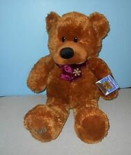 """22"""" JcPenney JC Penney Holiday 2003 Collection Christmas Brown Teddy Plush"""