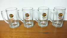 Set of 4 Tiger Beer Glasses