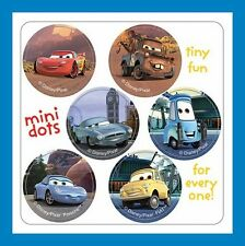 96 Disney Cars Dot Stickers (16 Sheets) Mater Lightning McQueen Luigi Guido