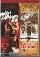NIGHT OF FEAR & INN OF THE DAMNED - 2 GREAT HORRORS - NEW & SEALED DVD