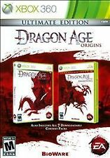 Dragon Age Origins: Ultimate Edition Xbox 360 New Xbox 360