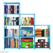 Quality Home Furniture Adjustable Bookcase Storage Bookshelf with 9 Book Shelves