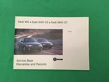 Genuine Saab Service Book. Covers All 1994 Models Unused Brand New