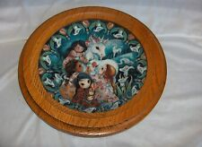 The Miracle Of Love Unicorn Plate Oak Frame Reco Guardians Of The Kingdom