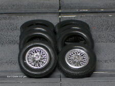 1/24 URETHANE SLOT CAR TIRES 2pr fit Carrera E-Type Jag