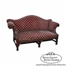 Exceptional Carved Georgian Chippendale Style Sofa