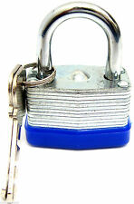 2x50mm Waterproof Weatherproof Heavy Duty Steel Shackle Outdoor Padlock Lock