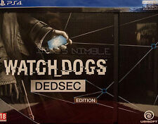 Watch Dogs -- DedSec Edition (Sony PlayStation 4, 2014) - UK PAL Sealed PS4
