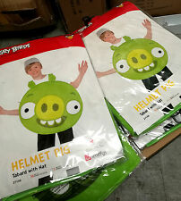 24 x Wholesale Joblot Smiffy's Angry Bird Kids Fancy Dress Pig Costume Green