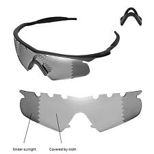 Polarized Transition Vented Replacement+Black Nosepads For Oakley M Frame Hybrid