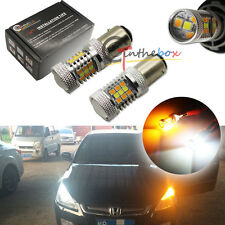 2x High Power 1157 Dual-Color Switchback 31-SMD Samsung LED Turn Signal Lights