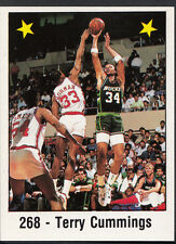 Panini NBA Basketball 1989 Sticker - No 268 - Terry Cummings (GD)