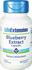 Blueberry Extract Capsules - Life Extension - 60 Veggie Capsules
