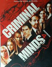 CRIMINAL MINDS The COMPLETE FOURTH SEASON 18+ Hours 26 Episodes+Special Features