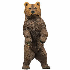 Grizzly Bear Standing North American Wildlife Safari Ltd Toys Educational Animal