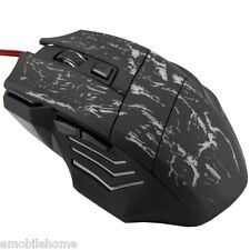 COOL! 5500DPI 7 Buttons LED USB Wired Gaming Mouse