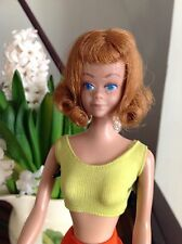 1963 Vintage Midge Barbie titian Hair doll all original ++