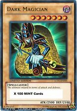 100 X Dark Magician 1st  LCJW Yugi's World Yugioh Mint Cards
