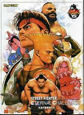 STREET FIGHTER ETERNAL CHALLENGE ARTBOOK Hard Cover VARIANT SIGNED Shinkiro NM