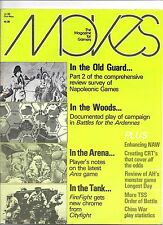 MOVES MAGAZINE #53 NAPOLEONIC GAMES REVIEW SPI 1980
