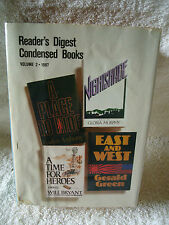 READER'S DIGEST CONDENSED BOOKS , VOLUME 2 , 1987 ANTHONY, MURPHY, GREEN, BRYANT