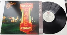 KLP41C - Hank Williams Jr. - Montana Cafe 1-25412 US LP + OIS, warner bros 1986