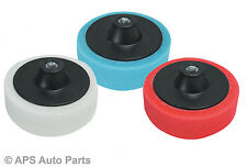 3 Pack Sponge Heads for valeting Car Polisher Buffer Polishing Machine Mop New