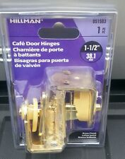 Brass Cafe Door or Doors Hardware Hinges Saloon Pub Swinging