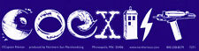 Science Fiction Coexist - Magnetic Bumper Sticker / Decal Magnet