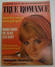 True Romance Magazine How Far Can A Nice Girl Go November 1969 062615R