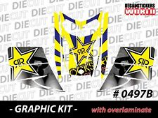 SKI-DOO REV MXZ SNOWMOBILE SLED WRAP GRAPHICS STICKER DECAL KIT 03-07 0497-B