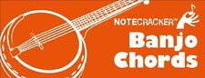 Notecracker Banjo Chords Learn to Play Pocket Sized Swatch REFERENCE Music Cards