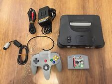 Nintendo 64 Console PAL UK N64 - Very Good Condition Tested