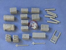 Resicast 1/35 British M7 Priest Stowage #1 (enough for 2 vehicles) 352294