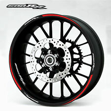 Honda 600rr red Wheel Rim Decals Stickers